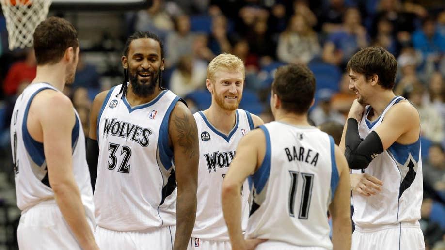 Bobcats Timberwolves Basketball