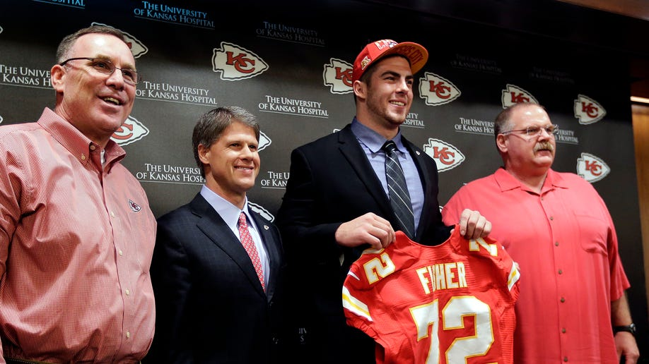 Chiefs Fisher Football
