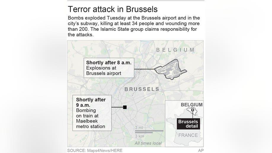 BRUSSELS BOMBINGS 2