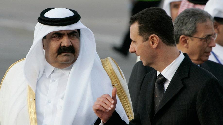 Mideast Syria Qatars Role