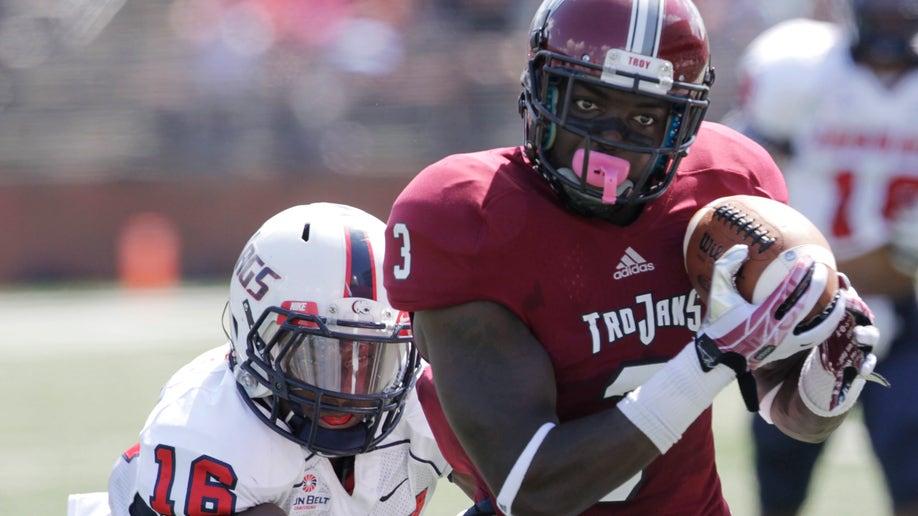 South Alabama Troy Football