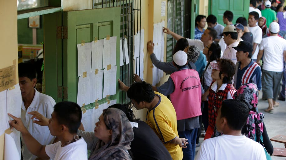 Philippines Village Elections