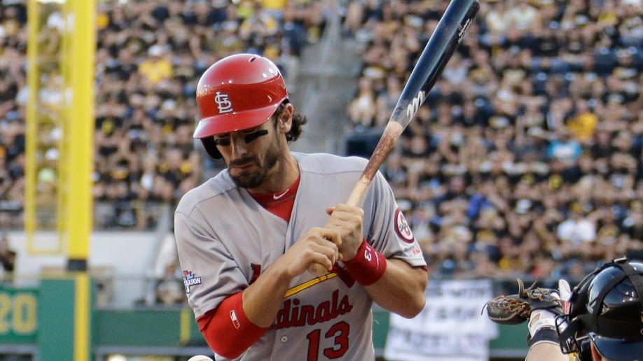 39062536-NLDS Cardinals Pirates Baseball