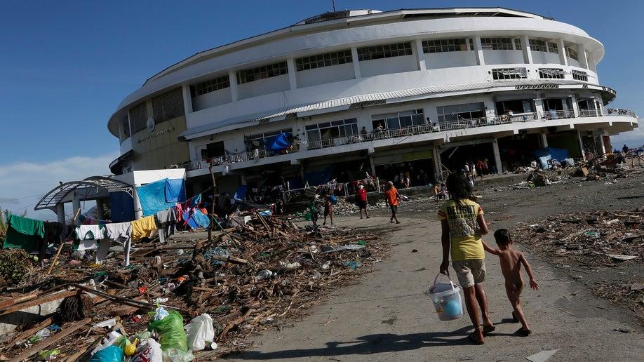 Philippines Typhoon Astrodome