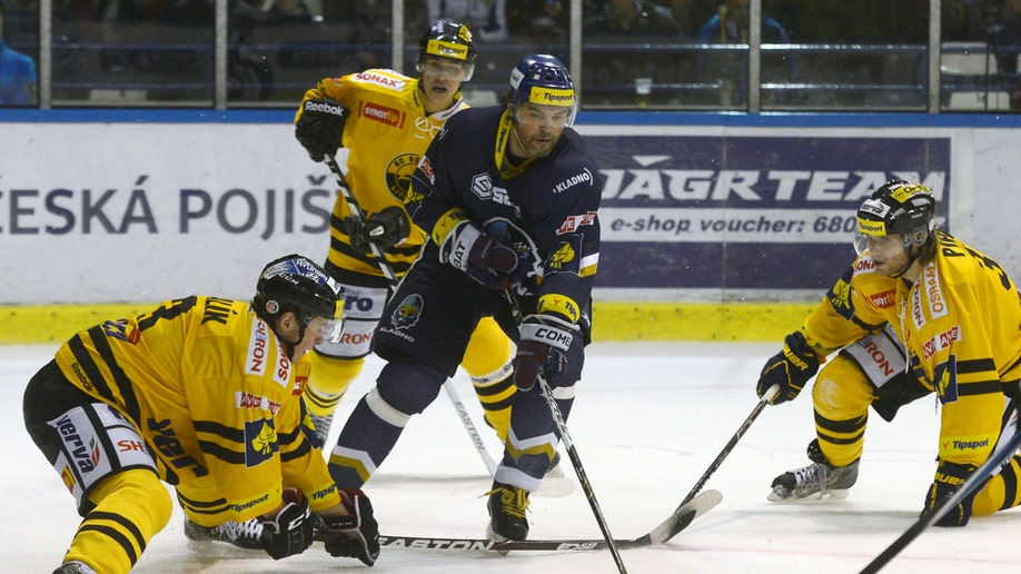 Czech Republic Usa Hockey NHL