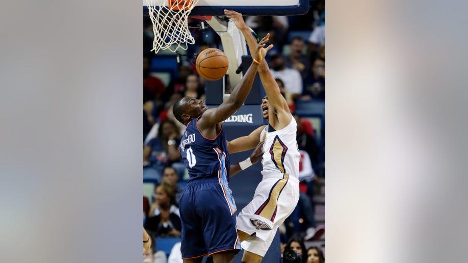 Bobcats Pelicans Basketball