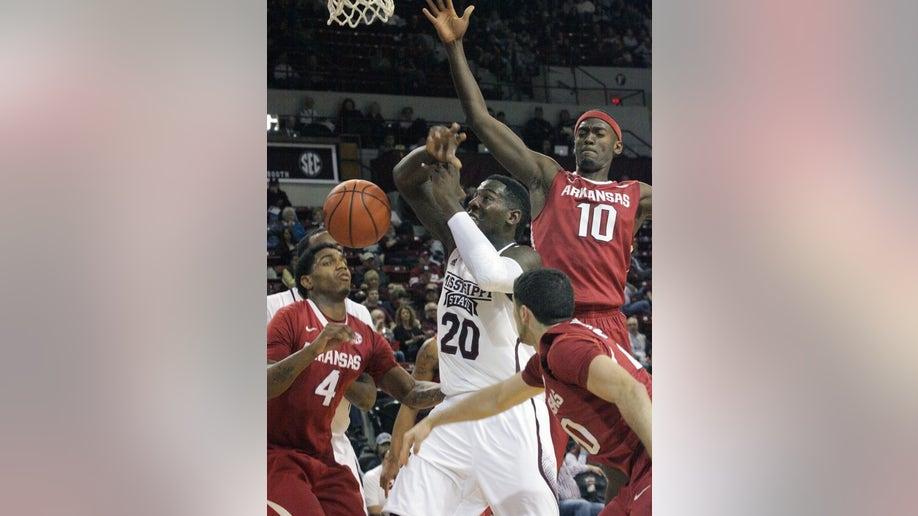 Arkansas Mississippi St Basketball