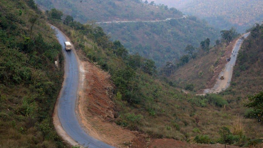 Myanmar Portraits The Highway