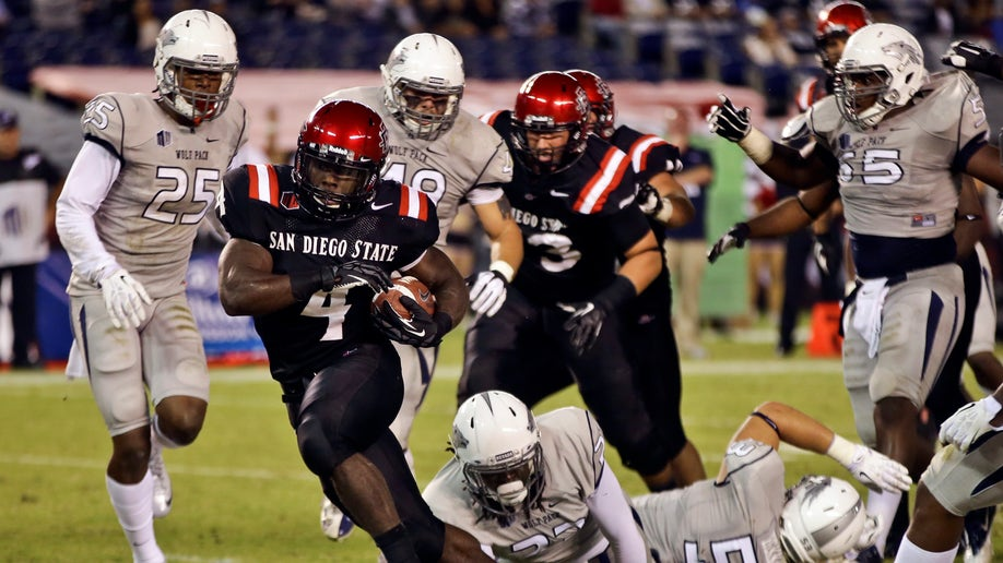 Nevada San Diego St Football