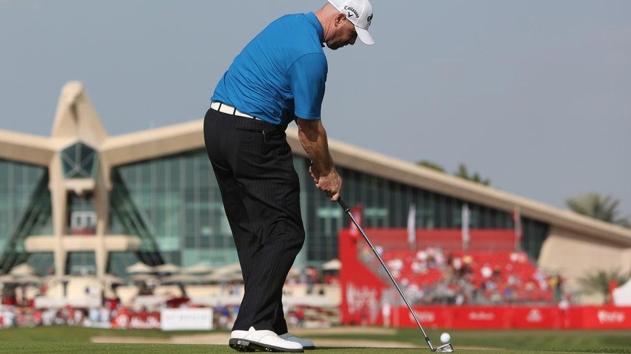 f809e8ea-Mideast Emirates Abu Dhabi Golf