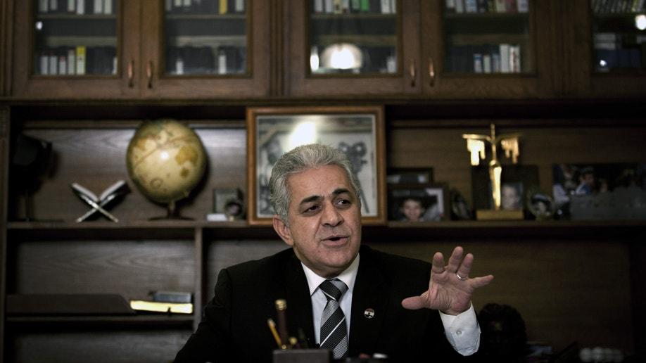 APTOPIX Mideast Egypt Opposition