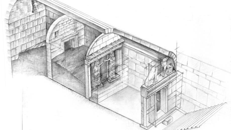 Greece Ancient Tomb