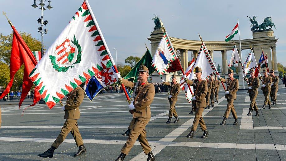 176f2007-Hungary Anniversary Of 1956