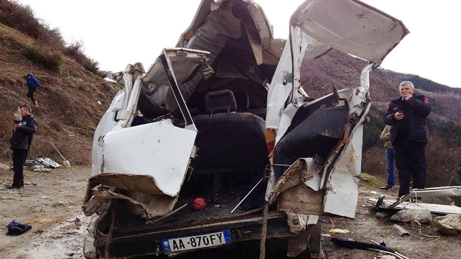 Albania Road Accident