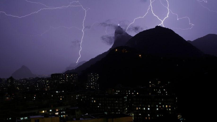 Brazil Rio Storm