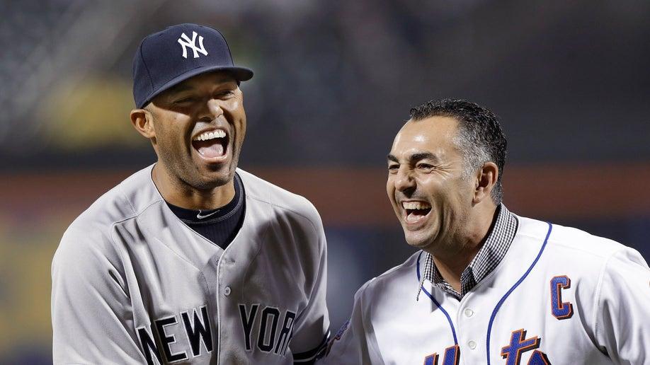 APTOPIX Yankees Mets Baseball