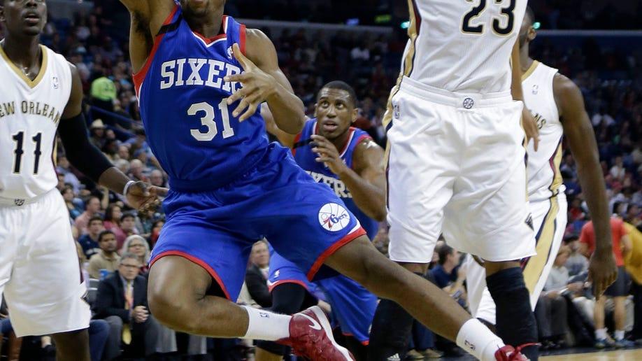 76ers Pelicans Basketball