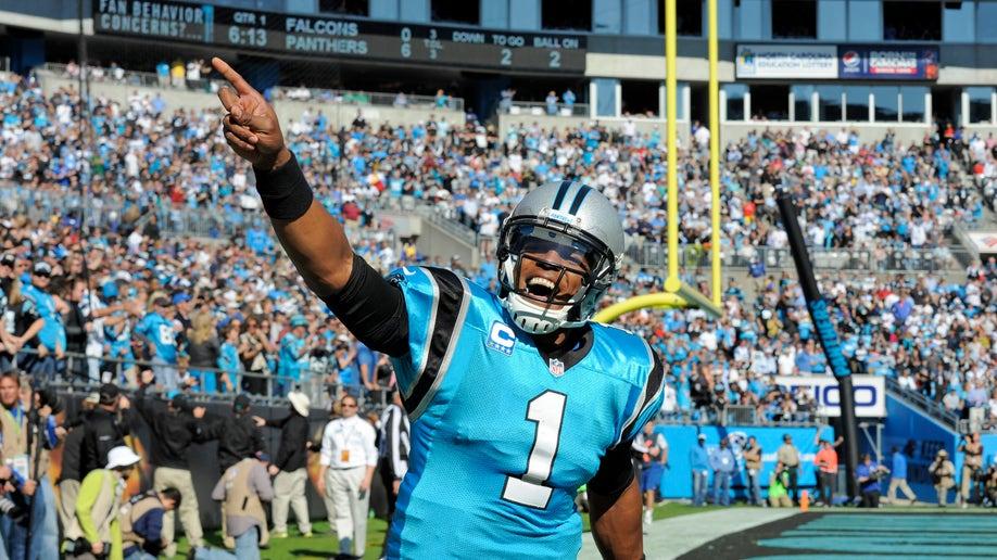 4067b444-APTOPIX Falcons Panthers Football