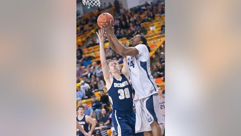 UC Davis Utah St Basketball