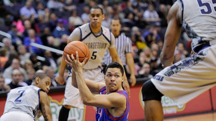 026d4960-American Georgetown Basketball