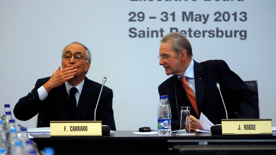 Russia IOC Meeting