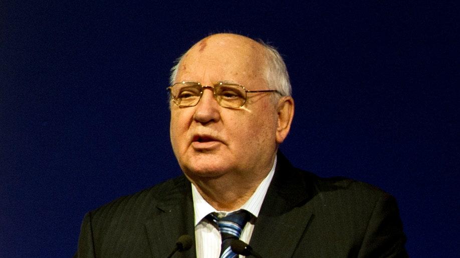 Mideast Ukraine-Gorbachev