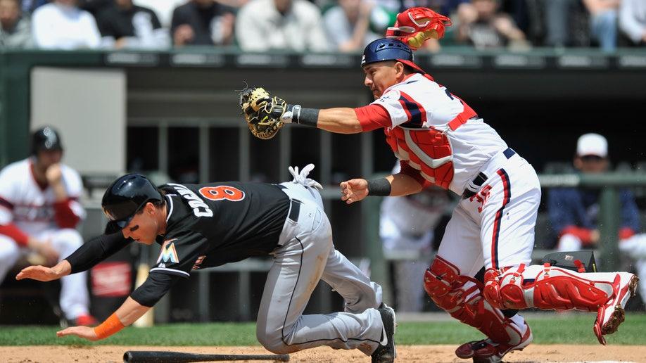 73def42a-Marlins White Sox Baseball