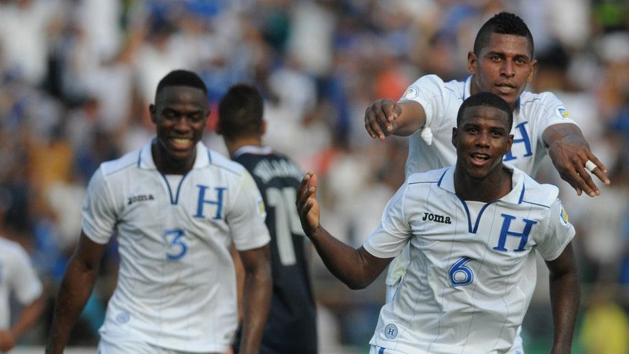 Honduras US Wcup Soccer