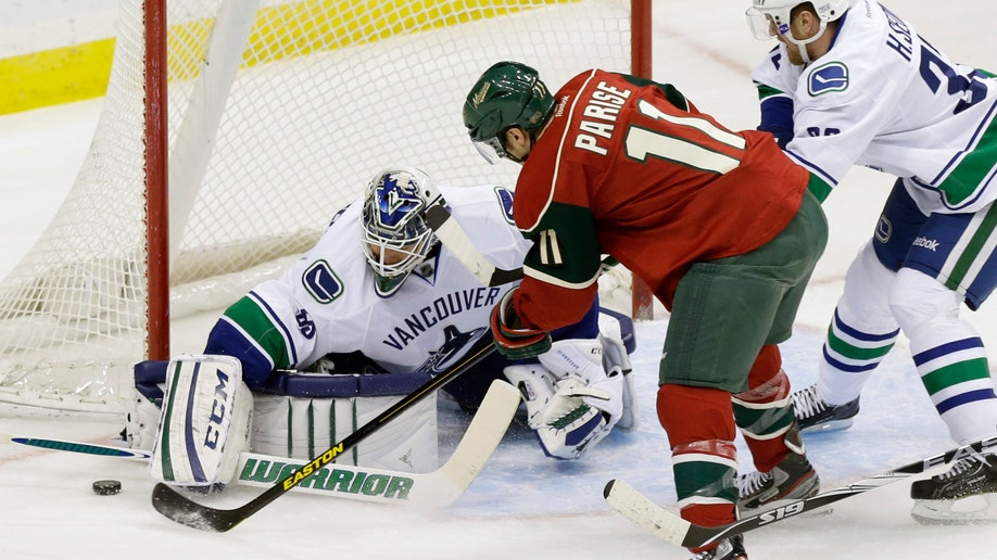 CORRECTION Canucks Wild Hockey