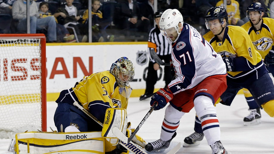 Blue Jackets Predators Hockey