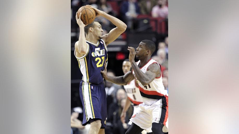 Jazz Trail Blazers Basketball