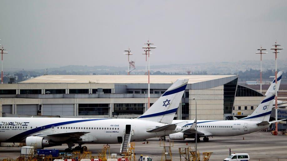 Mideast Israel Airline Strike