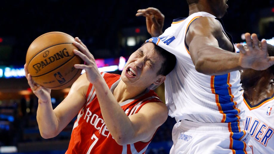 APTOPIX Rockets Thunder Basketball