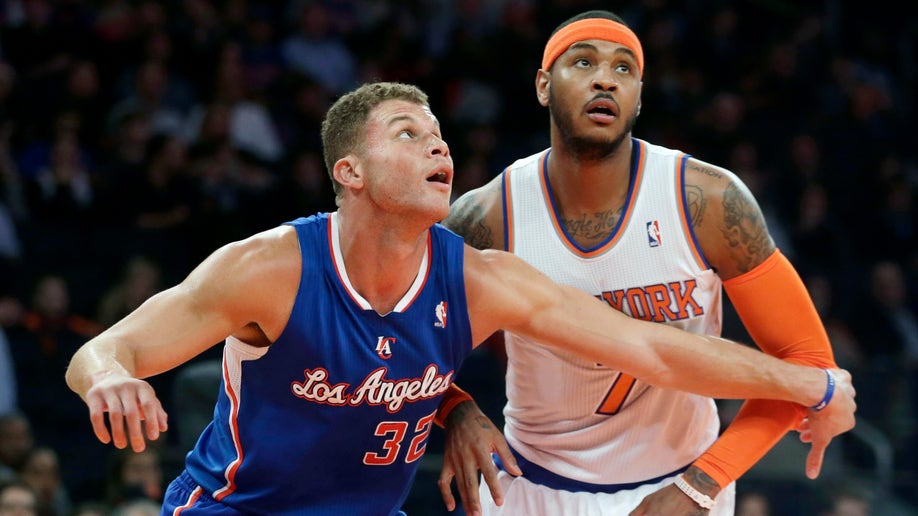 Clippers Knicks Basketball
