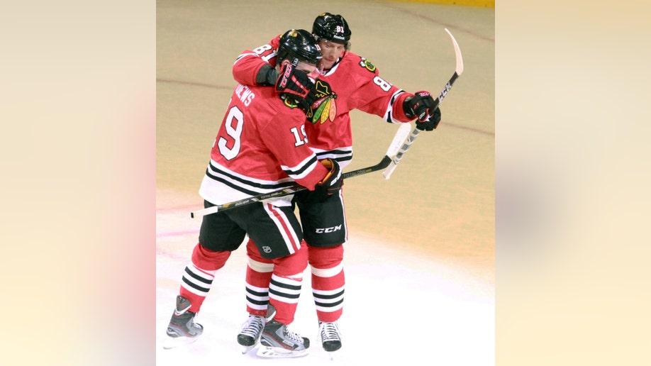 Blackhawks Wild NHL Playoffs
