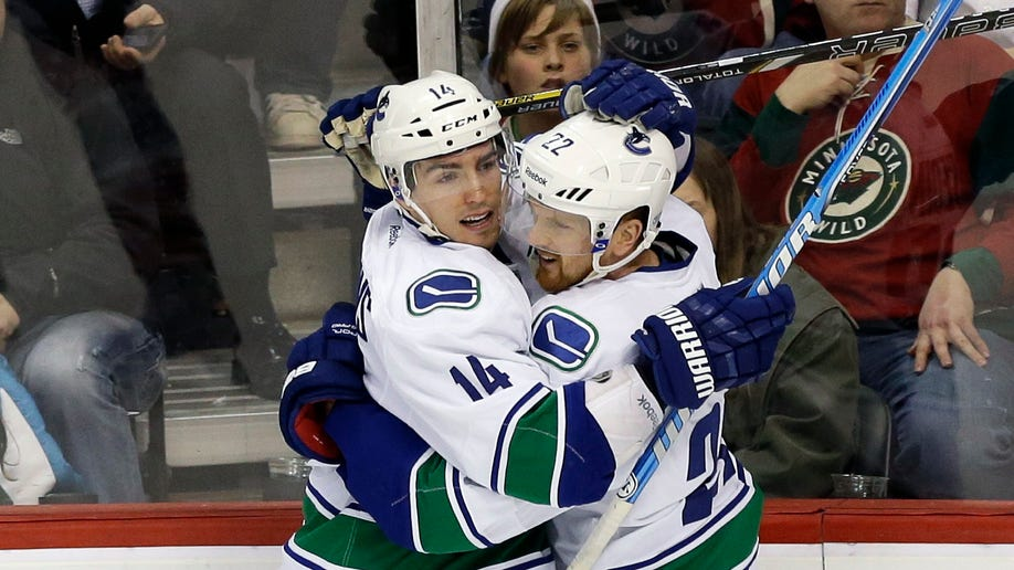Canucks Wild Hockey