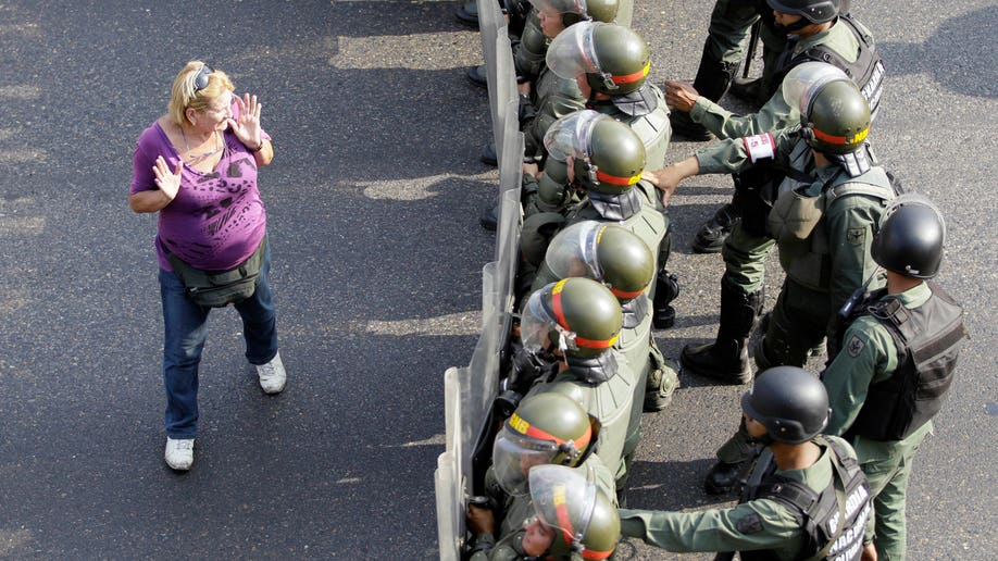 APTOPIX Venezuela Election Protests