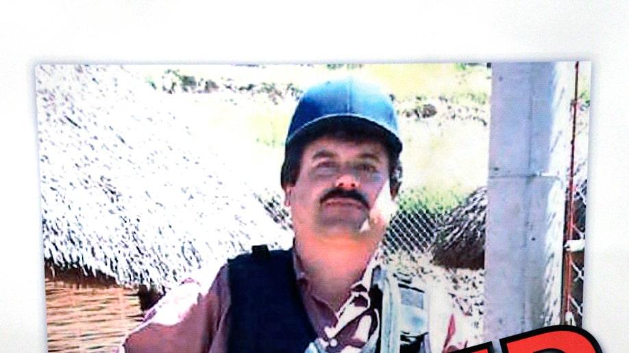 Drug War-Mexico Guzman