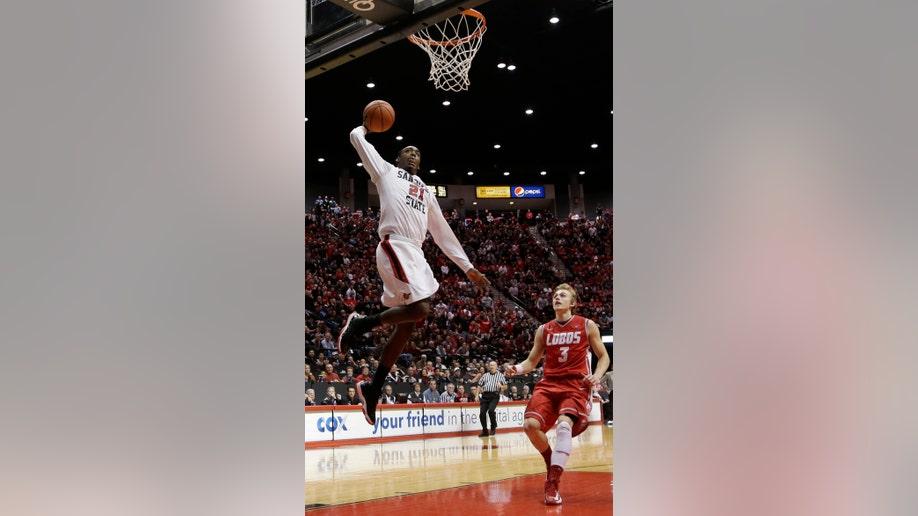New Mexico San Diego St Basketball