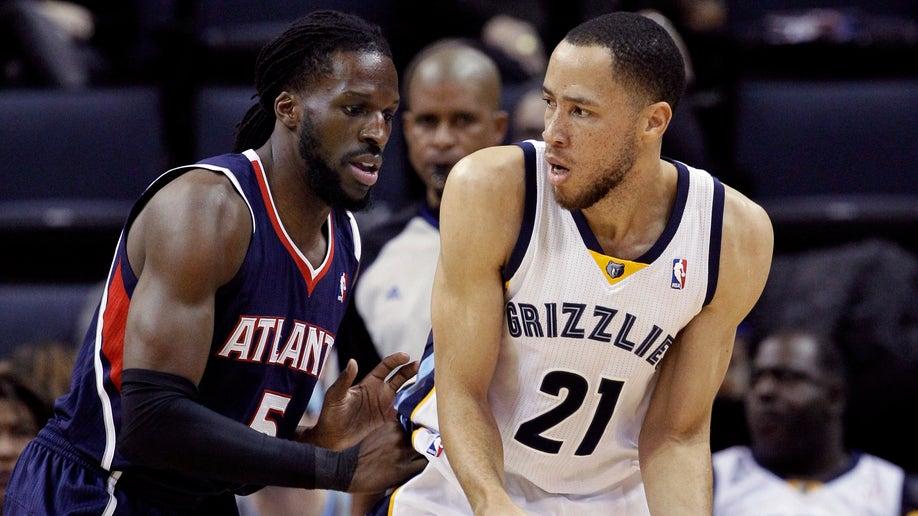 Hawks Grizzlies Basketball