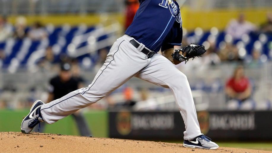 Rays Marlins Baseball