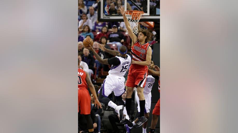 Trail Blazers Kings Basketball