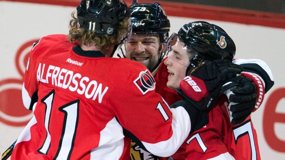 Panthers Senators Hockey