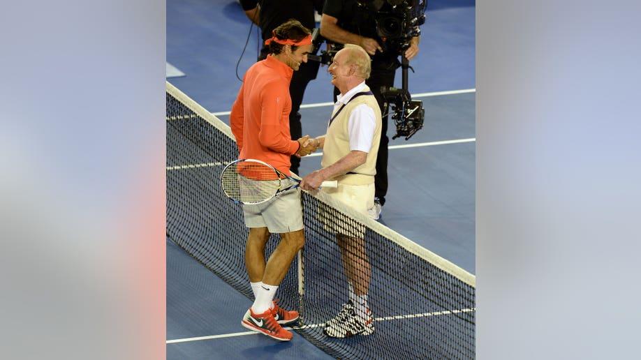 Australian Open Federer