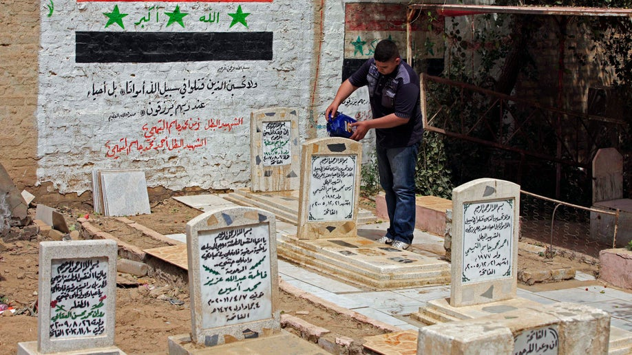 Mideast Iraq Fall of Baghdad