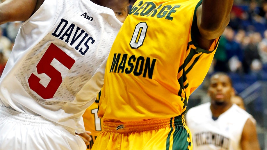 George Mason Richmond Basketball