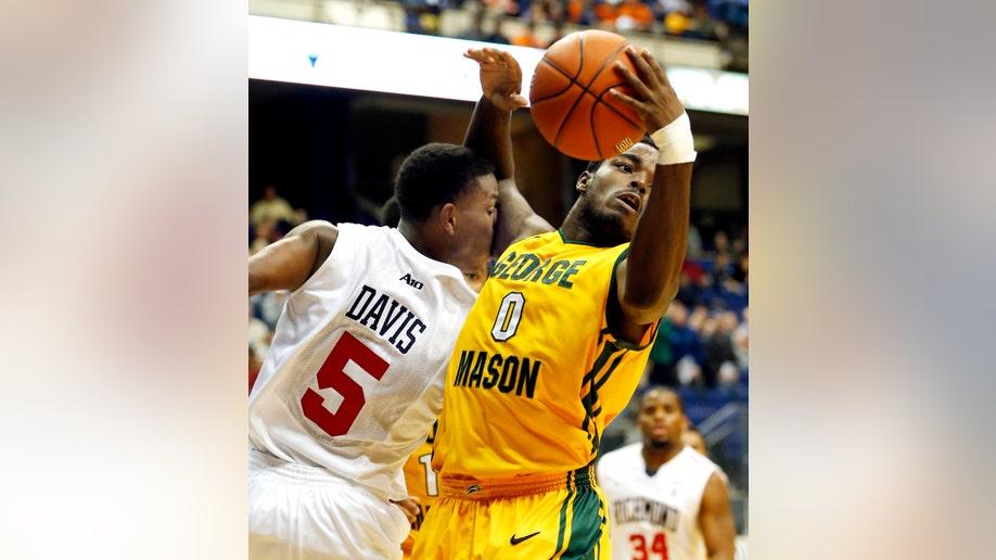 George Mason Richmond Basketball
