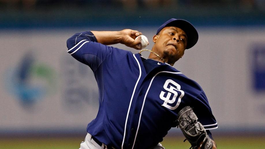 Padres Rays Baseball