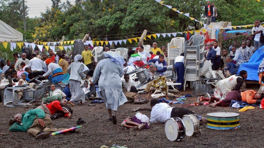 APTOPIX Tanzania Blast