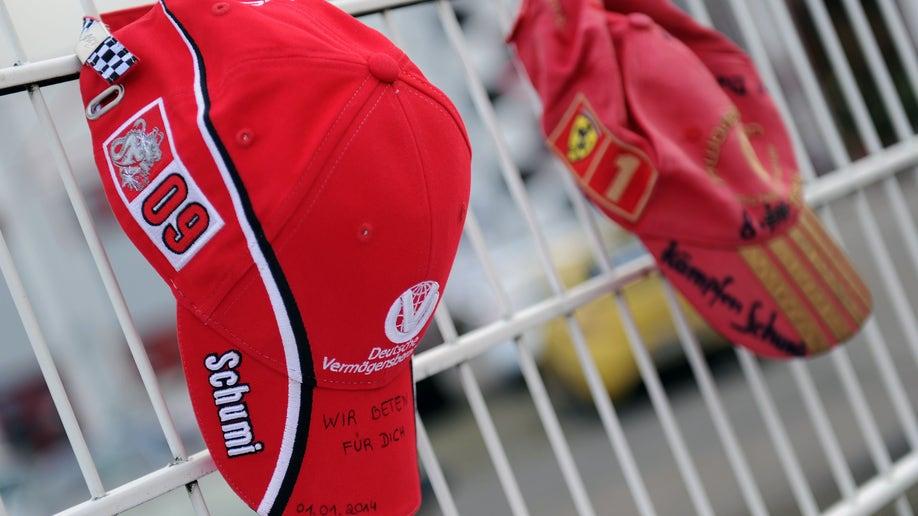 Germany Schumacher Injured